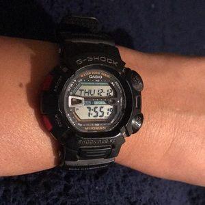 Black Casio G-Shock Mudmaster